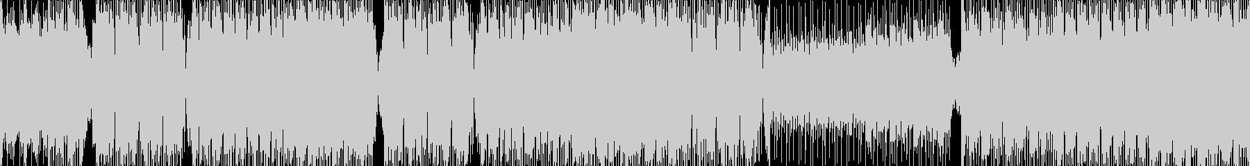 アグレッシブダーティーなダンスMUSICの未再生の波形