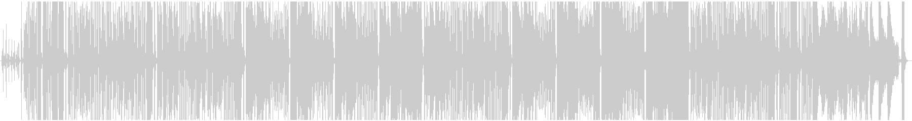 ジプシー調、レトロなアコーディオンの未再生の波形