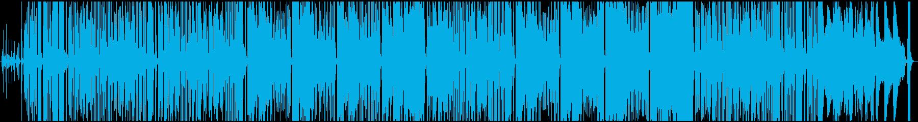 ジプシー調、レトロなアコーディオンの再生済みの波形
