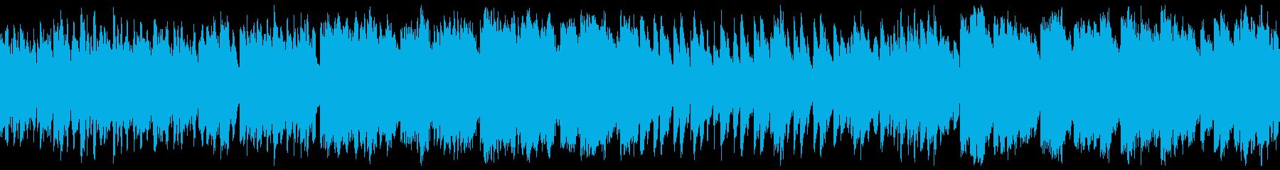 温かい、かわいい思い出 笛 グロッケンの再生済みの波形