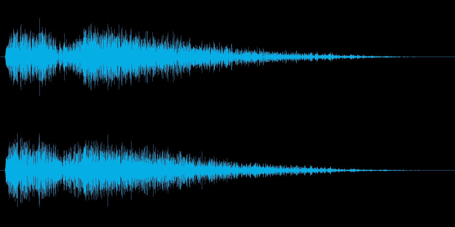 衝撃 ディストーションブラスト03の再生済みの波形
