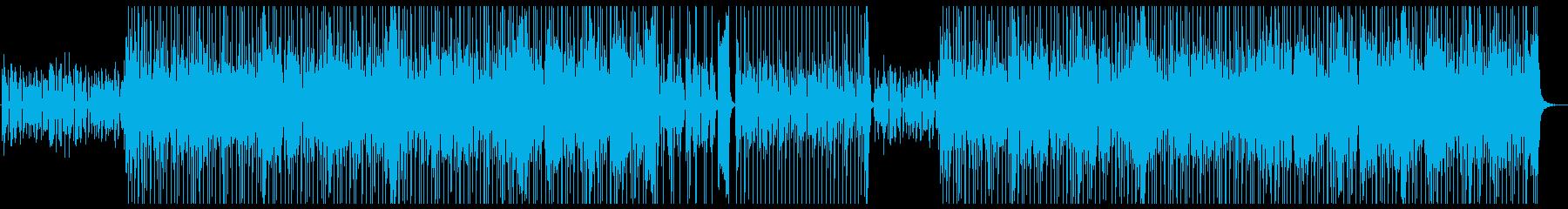 ファンク、ソウル、シンセメロ、'70sの再生済みの波形