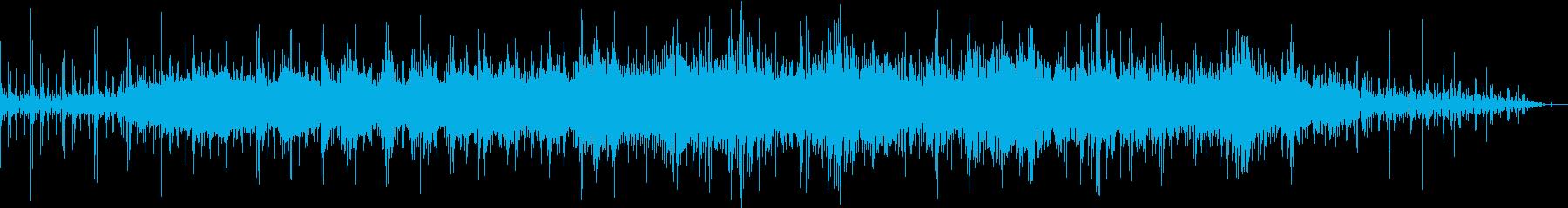 幸せな雰囲気漂うBGMの再生済みの波形