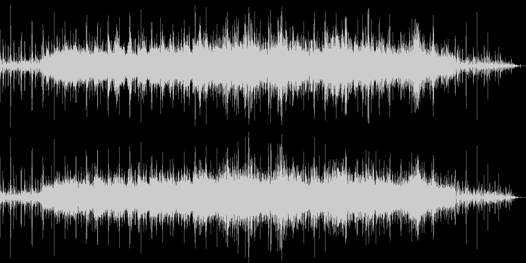 幸せな雰囲気漂うBGMの未再生の波形