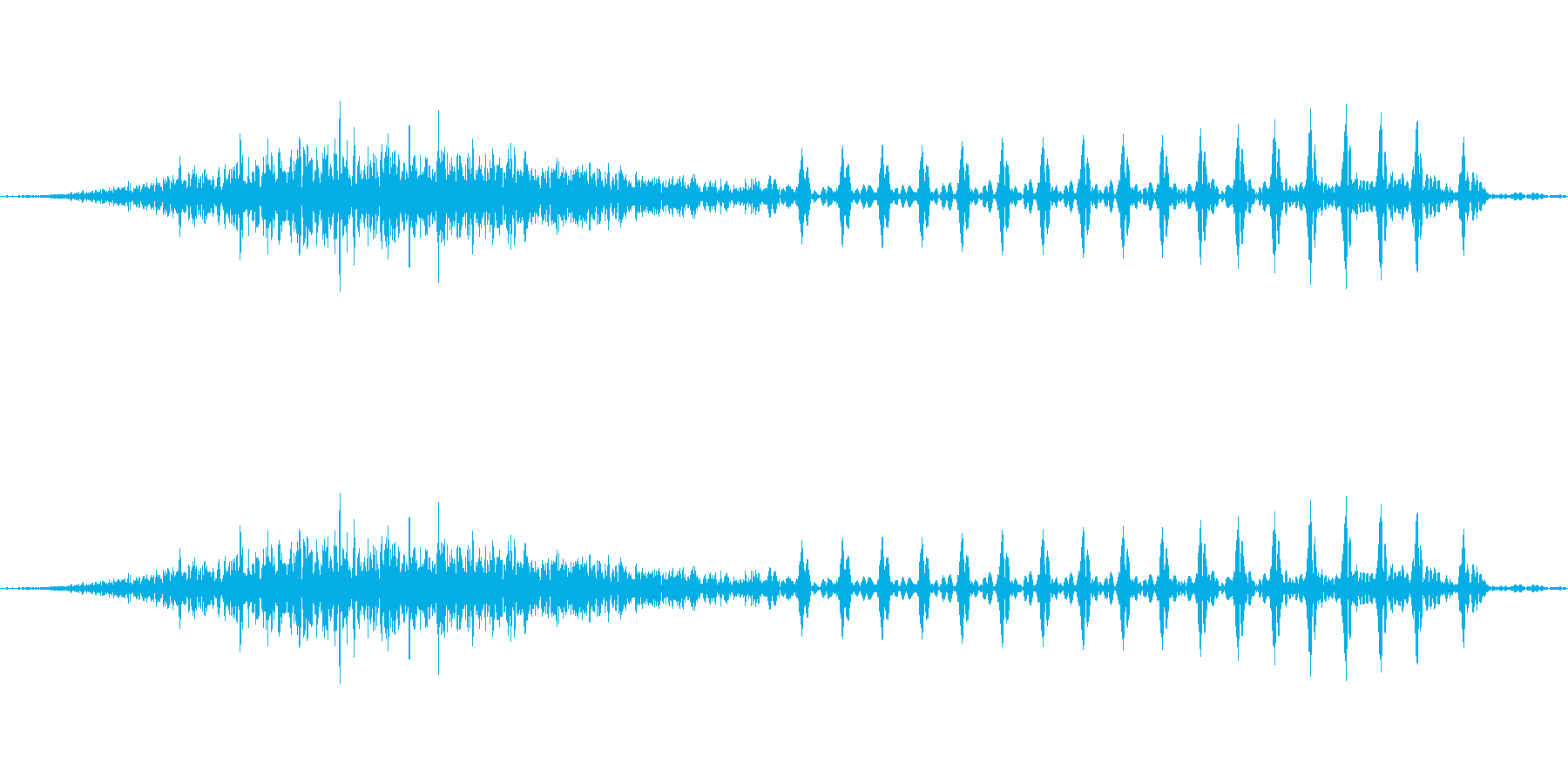 スゥ 十(10) 中国語(北京語) 男の再生済みの波形