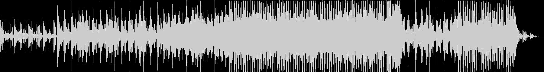 琴の旋律が印象的なBGMの未再生の波形