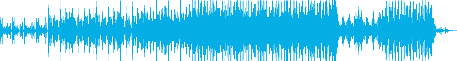 琴の旋律が印象的なBGMの再生済みの波形