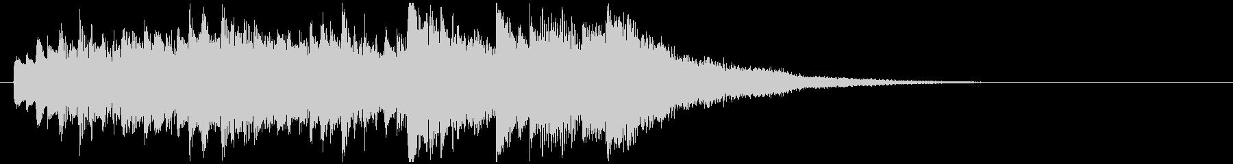 感動壮大ピアノジングル 映像向クラシックの未再生の波形