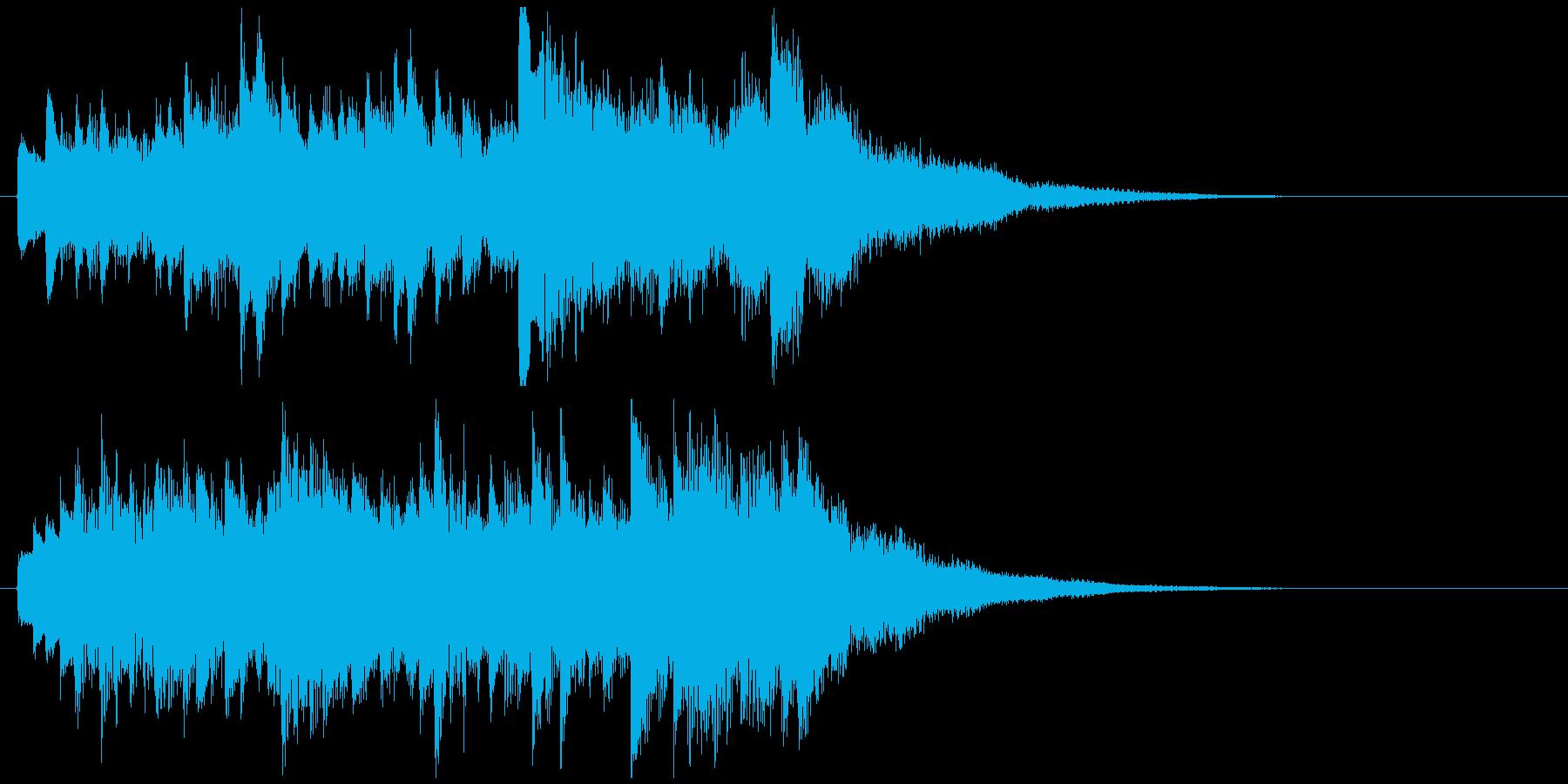 感動壮大ピアノジングル 映像向クラシックの再生済みの波形