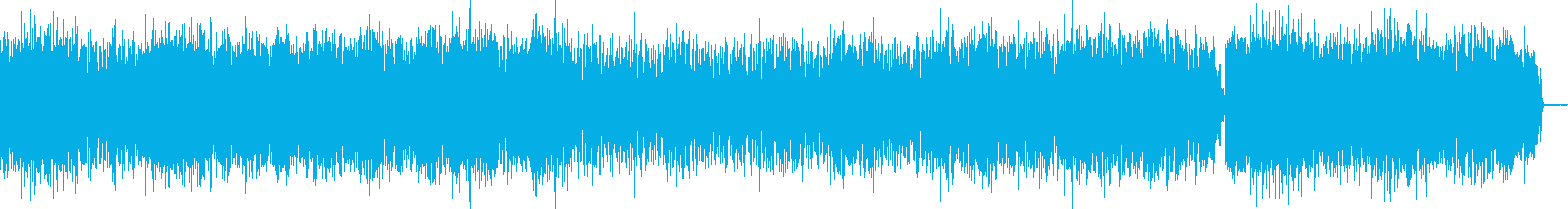 民族音楽風のジャズの再生済みの波形