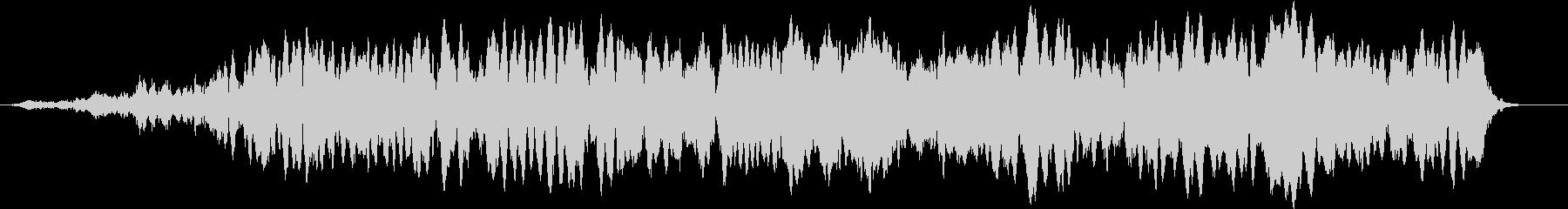 「おおおおお」デスボイス(高い声)の未再生の波形