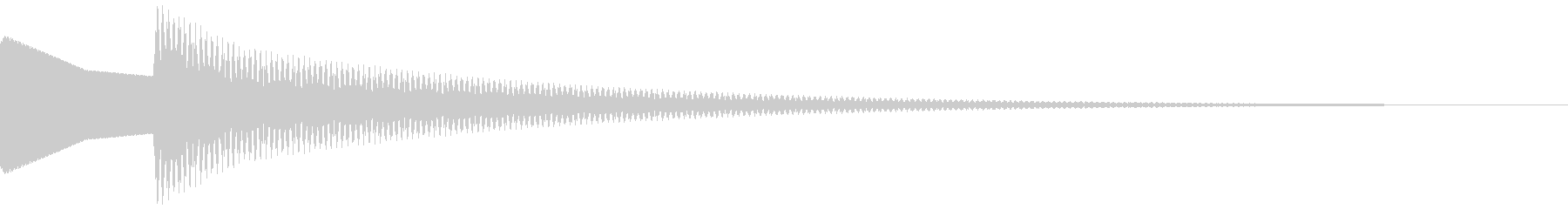 正解音 ピローン(スタンダード)の未再生の波形