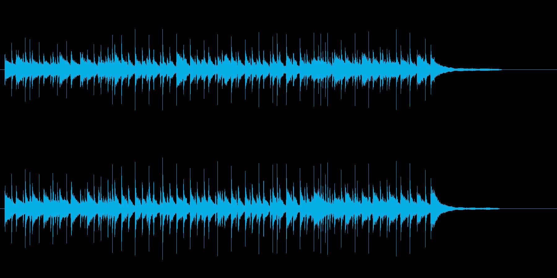 ほのぼのしたイージーリスニングの再生済みの波形