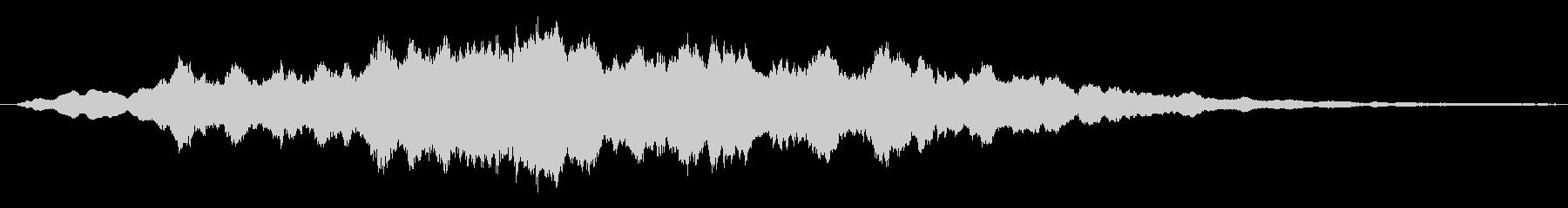 鋭い リンギングブリッター12の未再生の波形