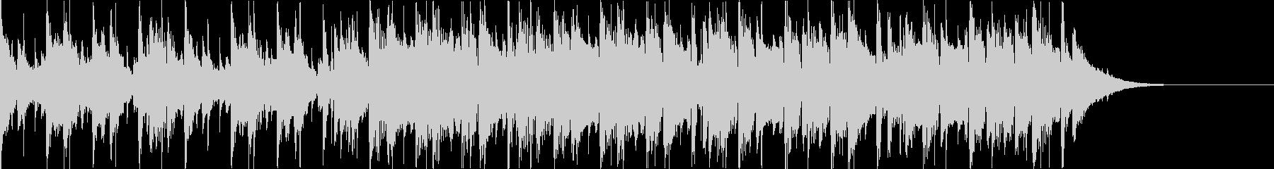 Pf「基点」和風現代ジャズの未再生の波形