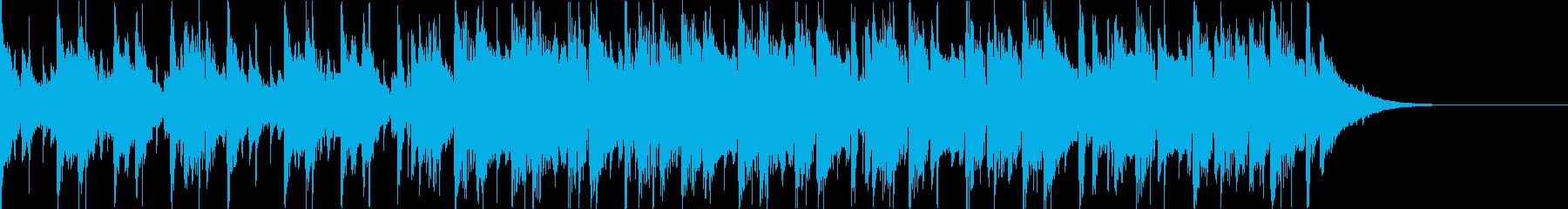 Pf「基点」和風現代ジャズの再生済みの波形