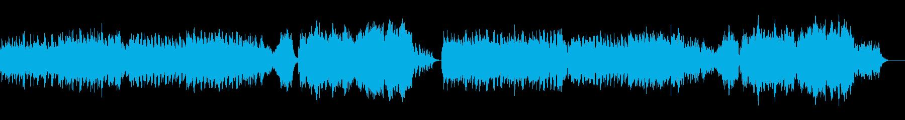 優しい曲です 感動 懐かしさの再生済みの波形