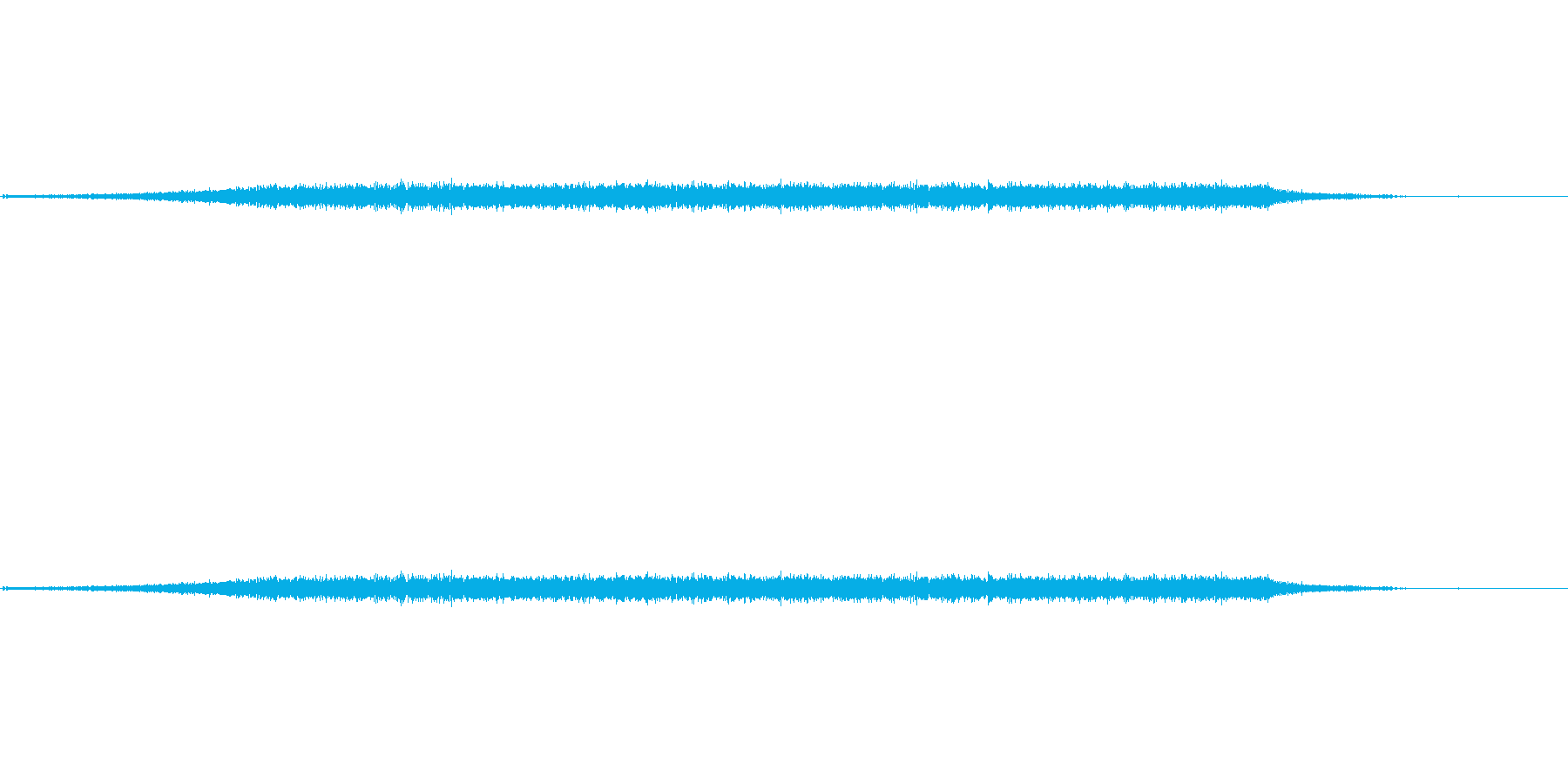 ドライヤー「ウイーン」の音です。の再生済みの波形