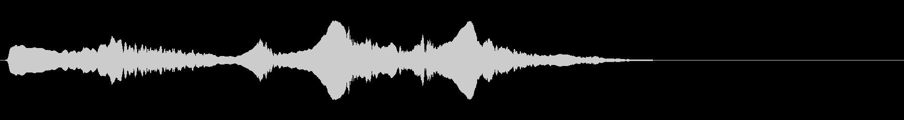 尺八 生演奏 古典風#6の未再生の波形