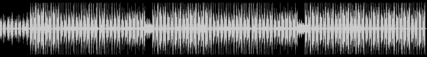 エレピがオシャレなK-POP風のトラップの未再生の波形
