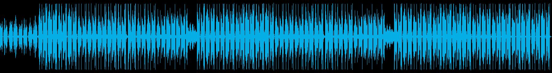 エレピがオシャレなK-POP風のトラップの再生済みの波形