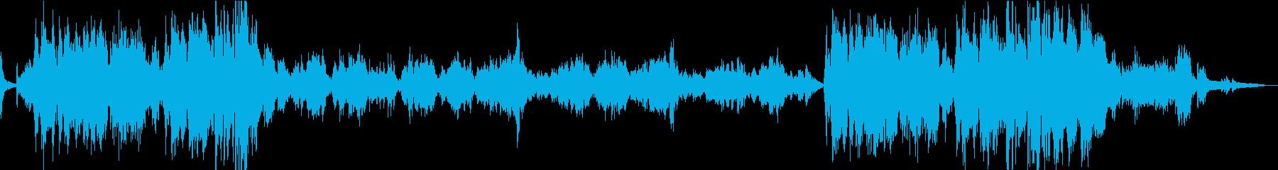 ショパン/幻想即興曲/ヴァイオリンの再生済みの波形