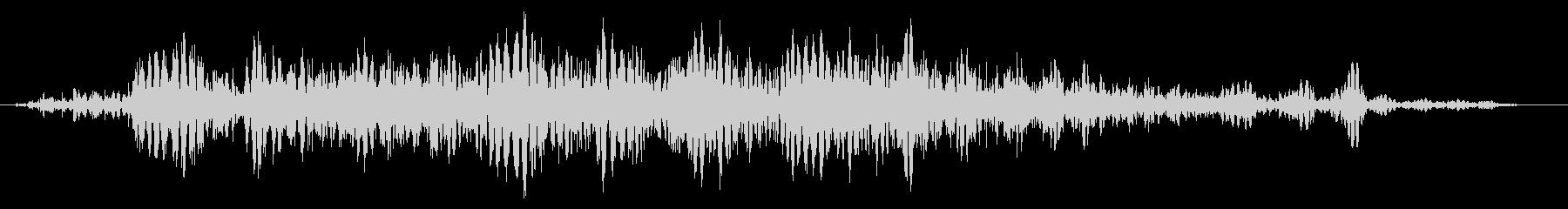 スライムなどが蠢く音 タイプC#6の未再生の波形