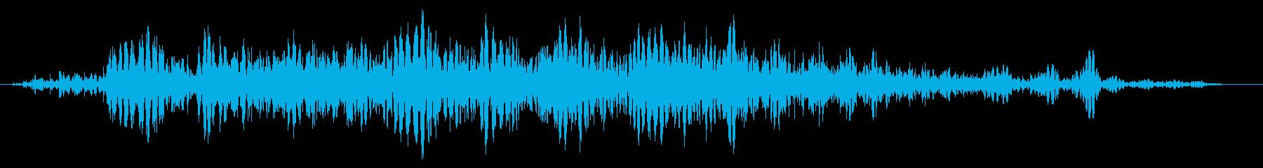 スライムなどが蠢く音 タイプC#6の再生済みの波形