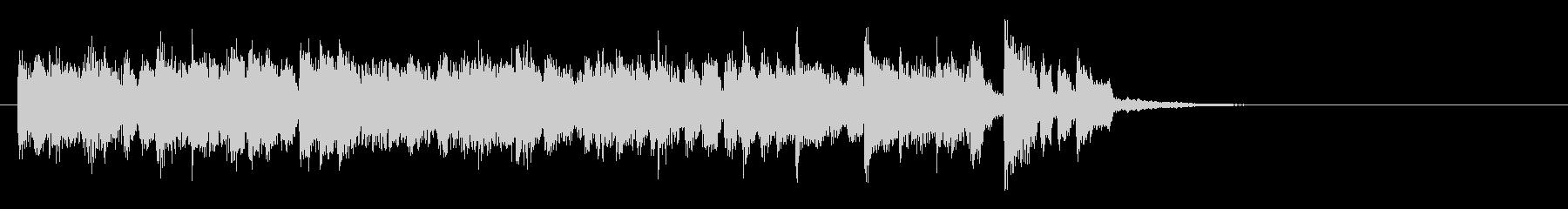 アコギのクラシカルでフラメンコなジングルの未再生の波形