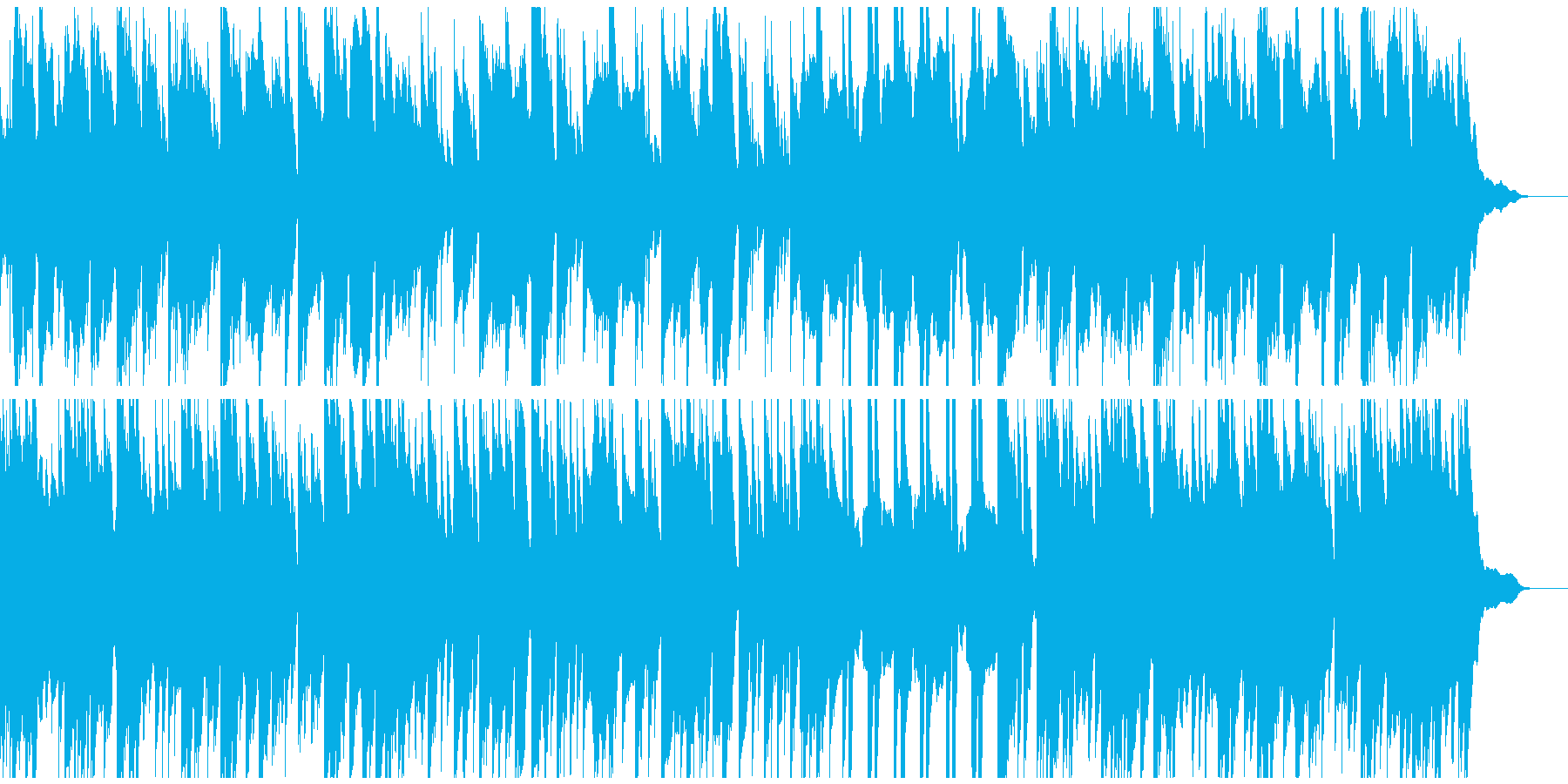 ピアノ、琴、ドゥドゥクでゆったり和な曲の再生済みの波形