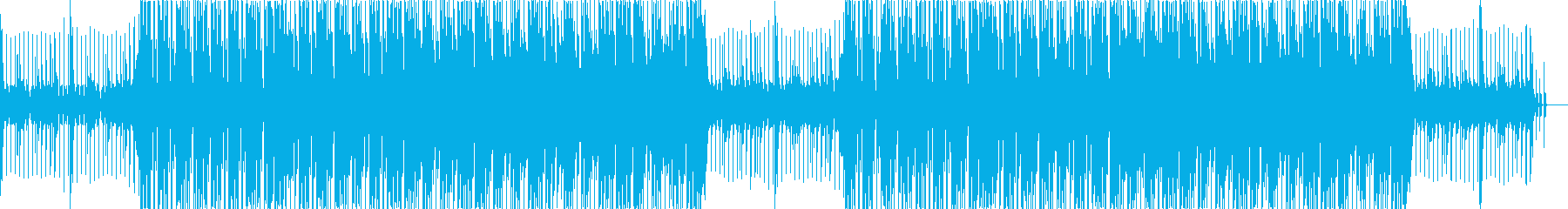 Refreshing and bright four-stroke electro music's reproduced waveform