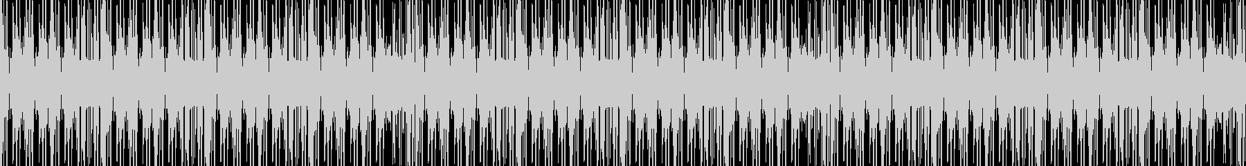 メロウなヒップホップループ2の未再生の波形