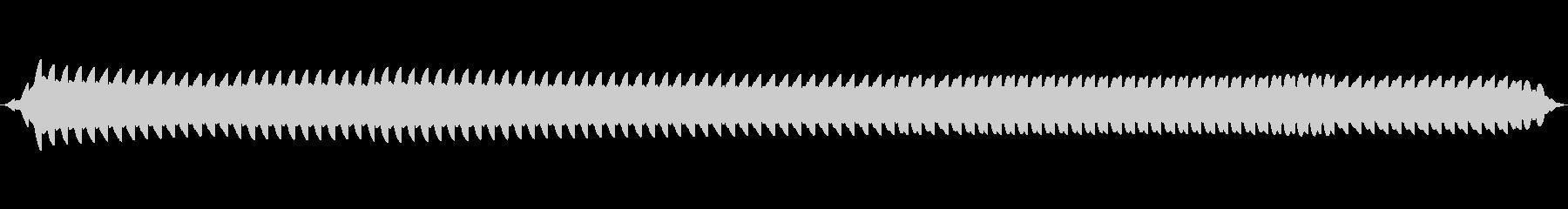 合成、アラームアラームの未再生の波形