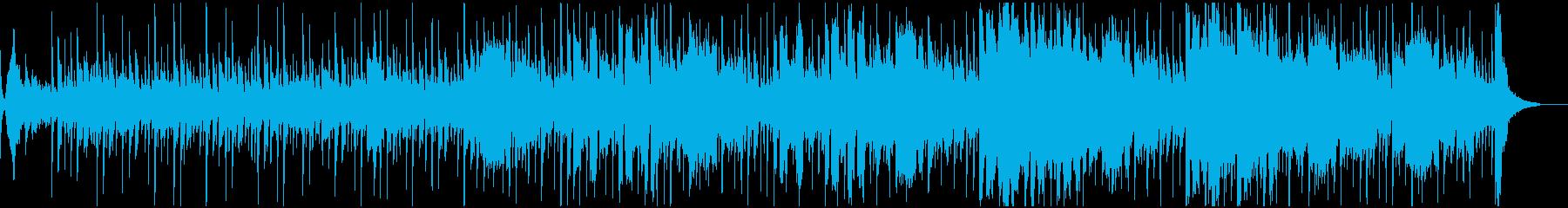 一種の「企業の電子ファンク」トラッ...の再生済みの波形