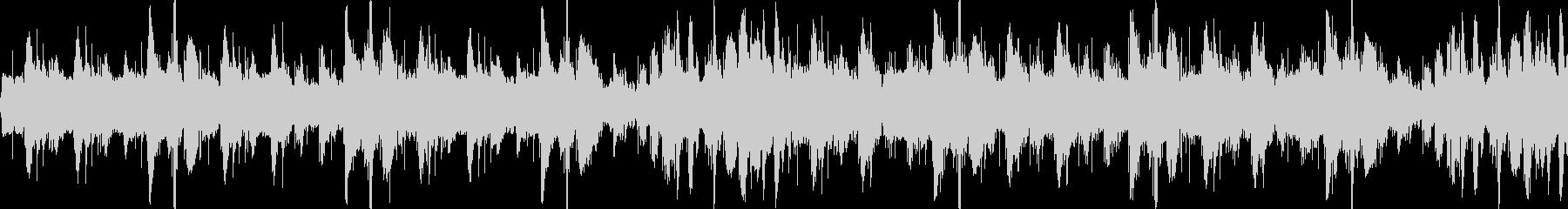 コミカルでアップテンポのBGM-ループ1の未再生の波形