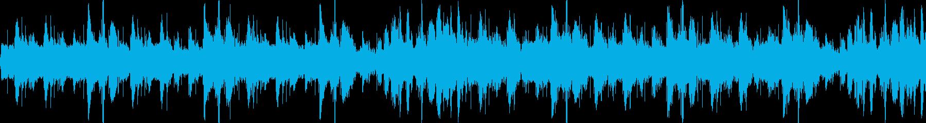 コミカルでアップテンポのBGM-ループ1の再生済みの波形