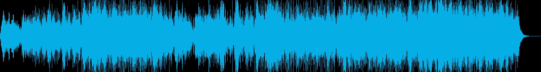 Blue cloudの再生済みの波形