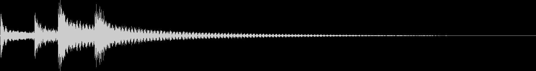コロロンちょっと低音(出現、回転、結果)の未再生の波形