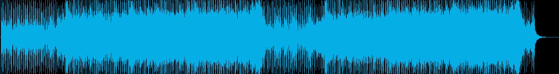 企業VP向け、爽やかポップ4つ打ち15aの再生済みの波形