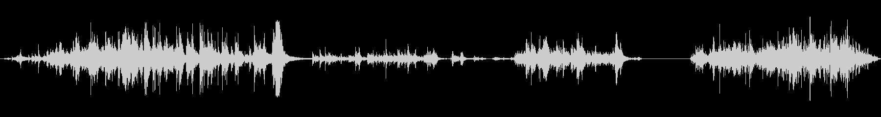 メタルドア:スライドオープン、静音...の未再生の波形