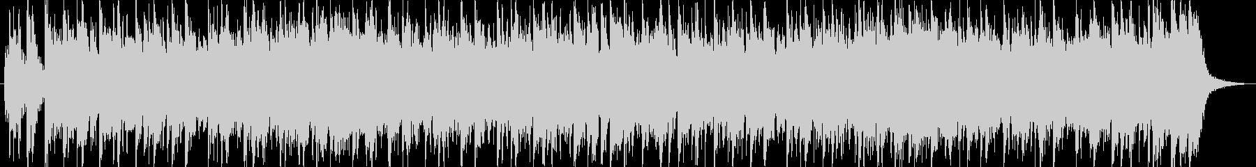 トーク用BGM(ファンク、ロック)の未再生の波形