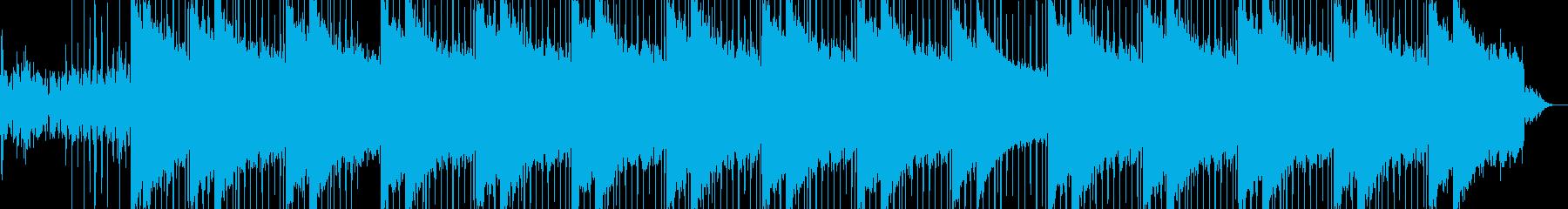 力強いイメージの楽曲の再生済みの波形