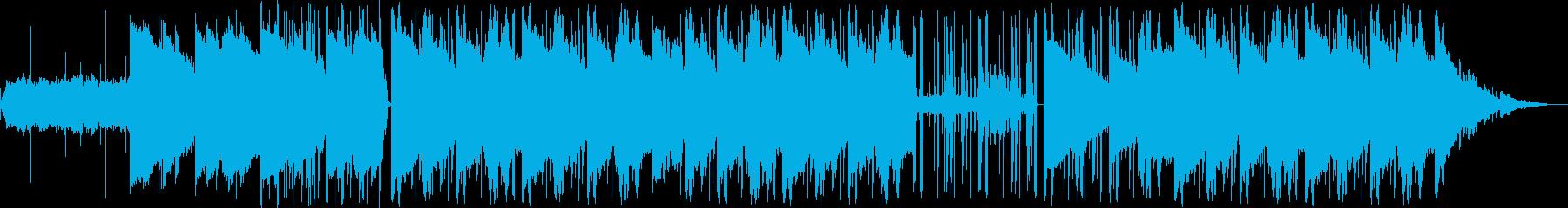 lo-fi hip-hop の再生済みの波形