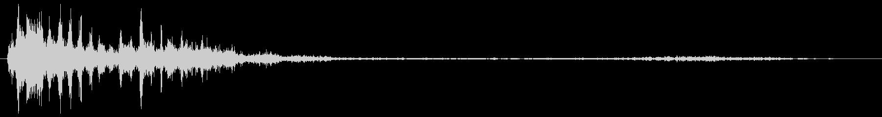 SCIFI GUNSHOT_04の未再生の波形