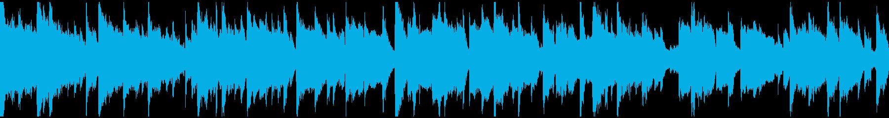 落ち着いたリラクゼーション ※ループ版の再生済みの波形