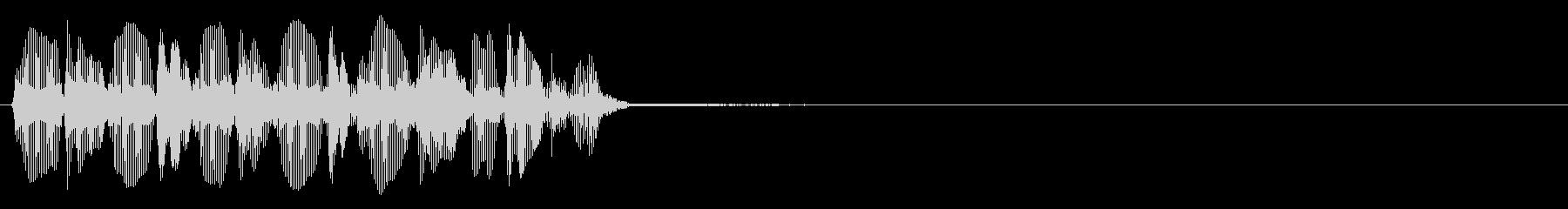 トロンボーン:クイックトリル、漫画...の未再生の波形