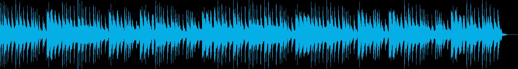 ピアノ・ハープ・癒しのマッサージの再生済みの波形