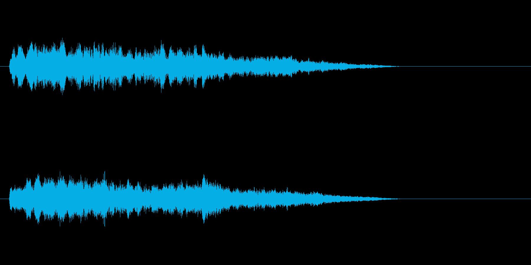 テーマ28:弦楽器、ピアノの再生済みの波形