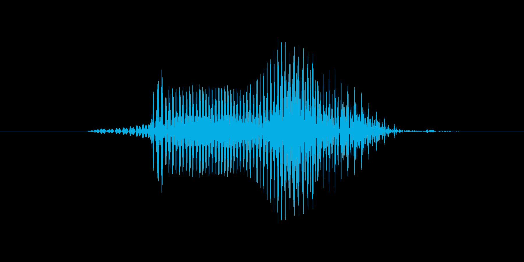 ボールの再生済みの波形