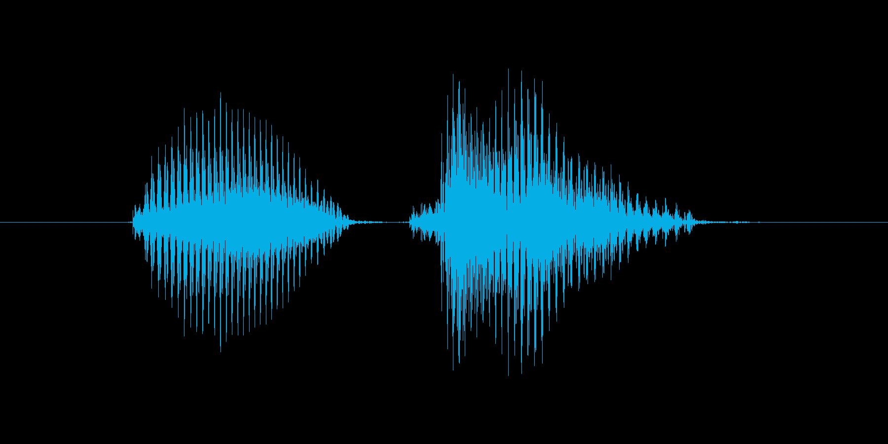 PK(ぴーけー)の再生済みの波形